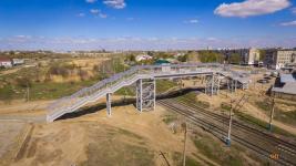 Решение по адаптации нового моста на Химгородках для передвижения по нему колясок еще не найдено