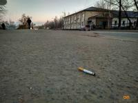 В Павлодаре оштрафовали американца за окурок на тротуаре