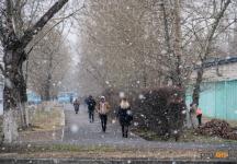 Синоптики прогнозируют снег