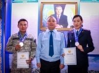 Павлодарские полицейские выиграли золото и серебро на чемпионате МВД по стрельбе из боевого оружия