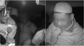 В Атырау водитель после задержания нанес себе побои на глазах у удивленных полицейских