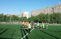 Новое мини-футбольное поле появилось на площадке 16-ой школы