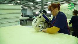 Синтепон собственного изготовления будет использовать павлодарская фирма для производства матрасов