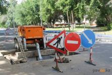 В акимате Павлодара предупредили об участках дорог, перекрытых в связи с ремонтом сетей