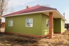 Собранный из панелей дом продемонстрировали в павлодарском домостроительном комбинате
