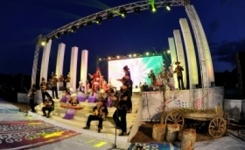 Ретро фестиваль «Жұлдызды Жасыбай» с успехом прошел в Павлодарской области
