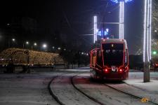 Павлодарские трамваи украсят иллюминацией
