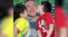 Видео с участием Назарбаева с внуками выложили в Instagram