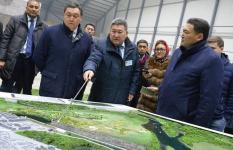 «Мы поддержим»: Аскар Мамин оценил проект триатлонной базы в Павлодаре
