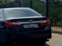 Казахстанские автолюбители могут заказать номера с красивыми буквенными комбинациями