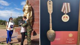 Походную ложку солдата ВОВ передали родным в Павлодаре