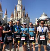 Павлодарские триатлонисты приняли участие в мировом соревновании IRONMAN