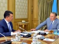 Нурсултан Назарбаев встретился с министром энергетики РК