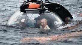 Daily Mail сравнила Путина в батискафе со злодеем из фильмов про Бонда