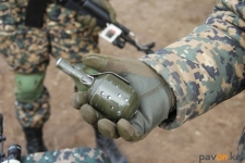 Во время тактических учений павлодарские нацгвардейцы использовали лазерные гранаты