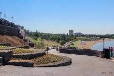 Знаменитая набережная Павлодара стала больше
