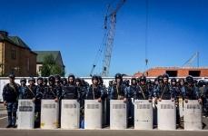 В Павлодаре в рамках учений личный состав областного ДВД и Национальной гвардии поднят по тревоге