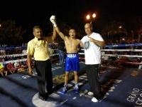 Павлодарский боксер Муса Турсынгалиев одержал в Мексике свою первую профеccиональную победу