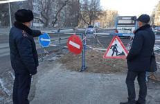 """""""Павлодар-Водоканал"""" оштрафовали за невыполнение требований по производству работ на дороге"""