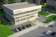 Здание банка в павлодарском сквере и благоустройство территории будут выполнены в стиле хайтек