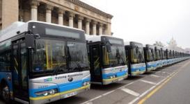 Частные перевозчики должны приобретать экологически чистые автобусы - Есимов
