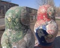 Этноаллея по улице Кутузова в Павлодаре вновь требует ремонта