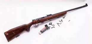 Пенсионер в Павлодаре хранил винтовку и 50 патронов