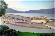 На берегу озера Жасыбай построят амфитеатр