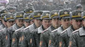 Украинские студенты освобождены от военной службы