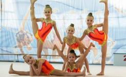 Павлодарские юные гимнастки заняли призовые места на международных соревнованиях в Петропавловске