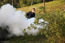 Павлодарский гнус отпугивает туристов