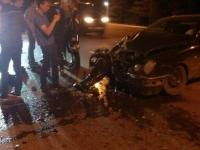 На трассе разбился мотоциклист