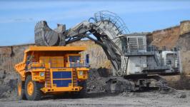 Режим ЧП не помешал установить новый рекорд по добыче угля на разрезе «Восточный»
