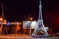 Огни новогоднего Павлодара