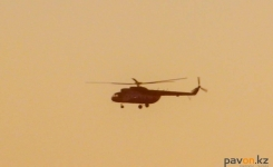 Павлодарский летчик погиб в результате крушения военного вертолета в Кызылординской области