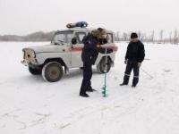 В Павлодарской области спасатели проверили Иртыш на прочность