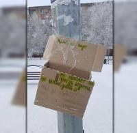 В Павлодаре на одной из остановок появилась касса взаимопомощи