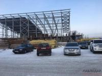 Современный бассейн в Усольском микрорайоне Павлодара рассчитывают сдать раньше намеченного срока