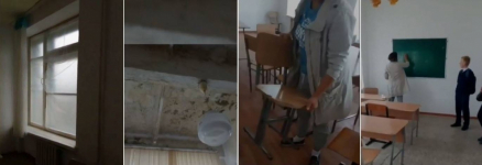 Родители высказали недовольство условиями обучения детей в школе села Береке Аксуского района
