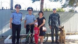 Служебный пес помог найти украденные велосипед и крупную сумму денег в Павлодарской области