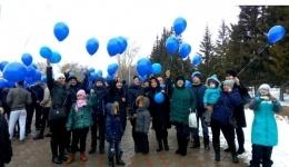 В Казахстане прошли акции поддержки детей с аутизмом