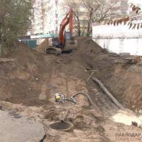 Реконструкцию канализационного коллектора по улице 1 Мая завершат в ноябре