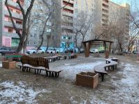 Во дворе павлодарской многоэтажки откроется уникальная зона отдыха и общения жильцов