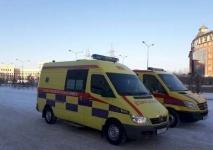 В Павлодарской области машины «скорой помощи» перекрашивают в лимонный цвет