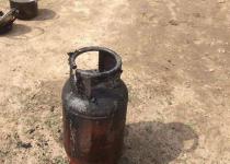 В Теренколе пожарные предотвратили взрыв газового баллона