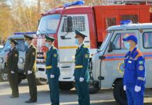 Семь единиц техники получили спасатели и пожарные Павлодарской области в честь профессионального праздника