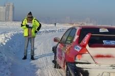 В Астане прошел второй этап Кубка Казахстана по зимнему ралли-спринту