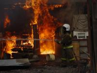 В пригородном селе Павлодара при пожаре погиб мужчина