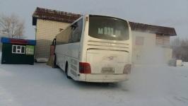 В районе села Кенжеколь спасли автобус с родителями солдат-срочников