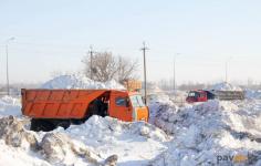 Владельцам коммерческих организаций в Павлодаре напоминают о необходимости уборки снега с прилегающей территории